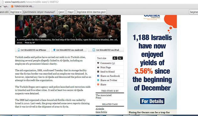İsrail medyası İHH baskınına çok sevindi