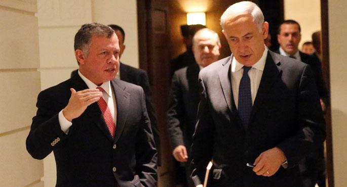 Netanyahu'dan Ürdün'e ani ziyaret