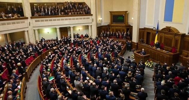 Ukrayna parlamentosunda gerginlik