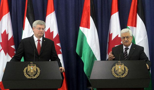 Kanada'dan Filistin'e müzakere baskısı
