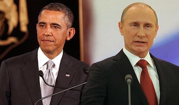 Obama ile Putin telefonda Ukrayna'yı görüştü