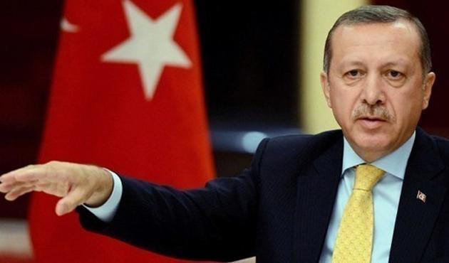 Erdoğan, Almanya yolunda konuşuyor