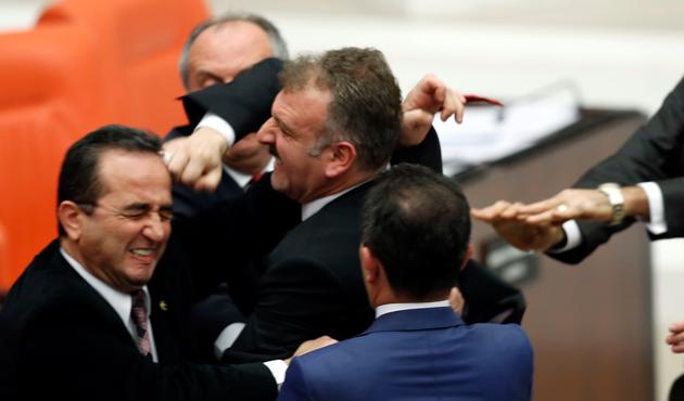 Meclis'teki kavgada milletvekiline kınama
