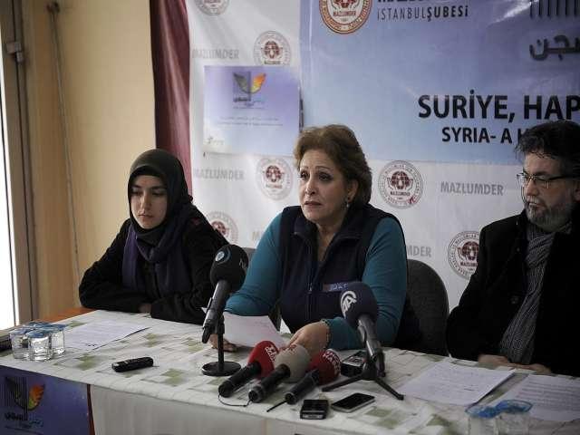 Suriyeli kadınlardan tutuklular için seferberlik çağrısı