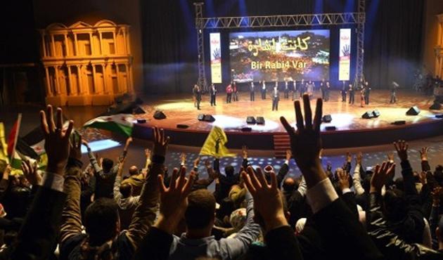 İstanbul'da uluslararası Rabia gecesi düzenlendi