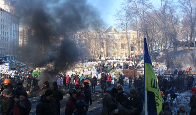 Ukrayna'daki göstericilerin vurulduğu açıklandı