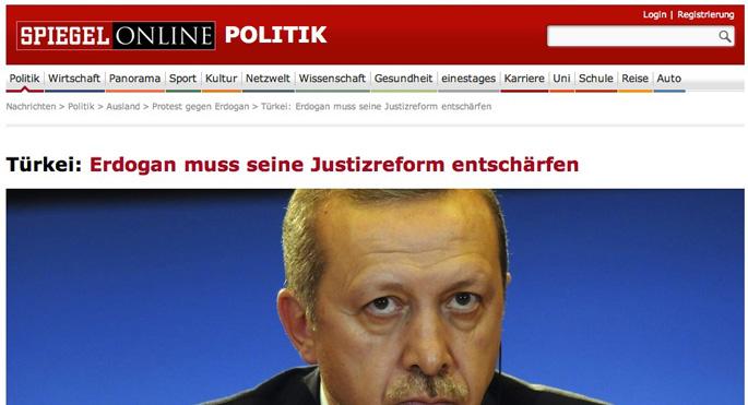 Alman basını Erdoğan'a akıl vermeyi sürdürüyor!
