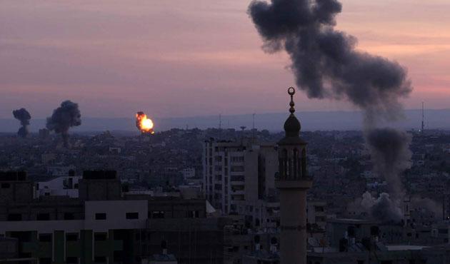 İsrail'den Gazze'ye yine hava saldırısı