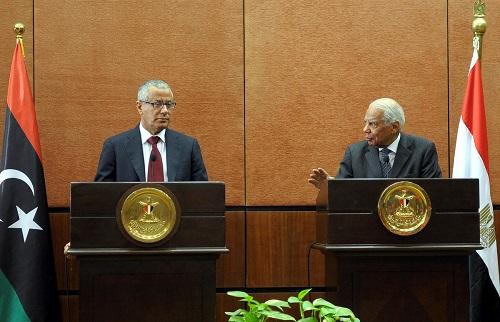 Libya Başbakanı Zeydan, Mısır'da