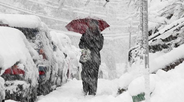 Sırbistan'da kar fırtınası, 1000 kişi mahsur kaldı