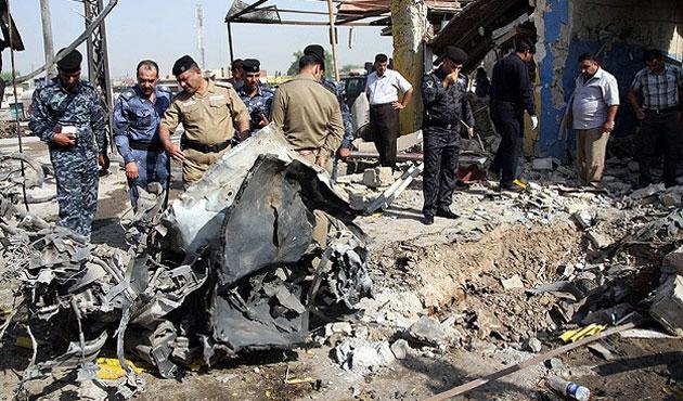 Bağdat altı patlamada 13 ölü