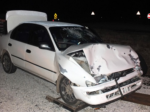 Asker uğurlama konvoyunda kaza: 9 yaralı