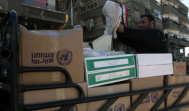 Yermuk'te yardım dağıtıldı