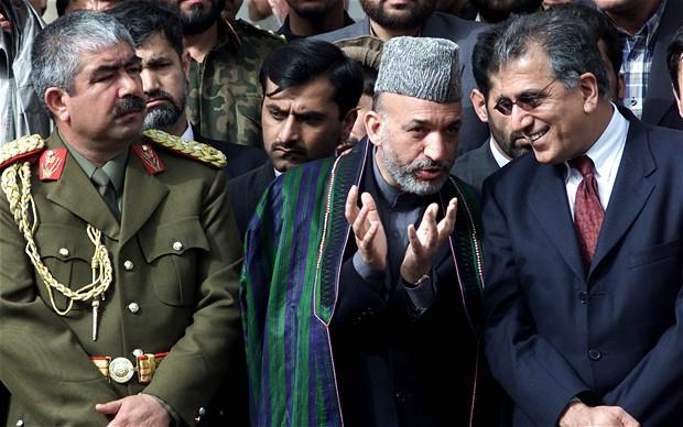 Katliamcı Raşid Dostum yine Afganistan denkleminde...