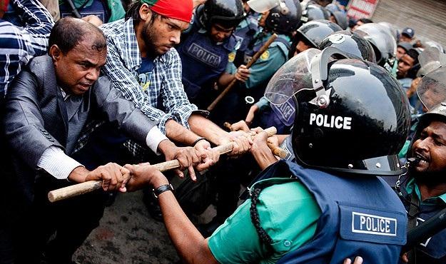 Bangladeş'te seçim çatışmaları: Dört ölü