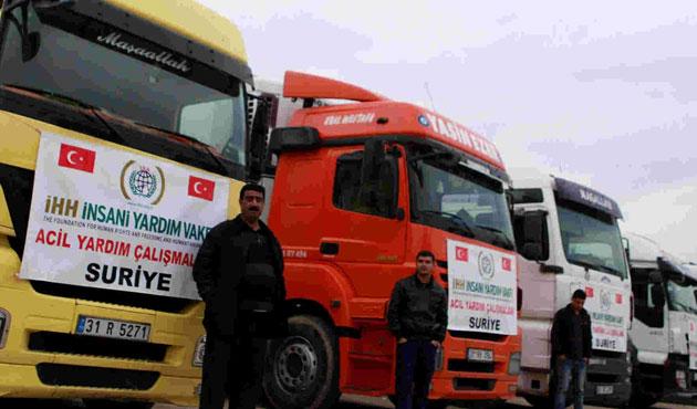 İHH, Suriye'ye 200 yardım tırı yola çıkaracak