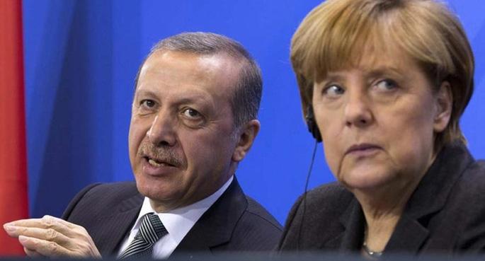 Alman basını: Merkel, Erdoğan'ı savuşturdu!
