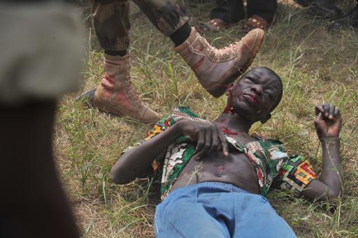Orta Afrika'da vahşi cinayet!