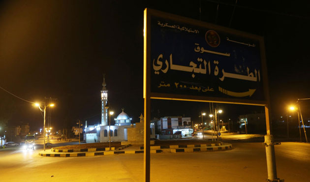 Suriye - Ürdün sınırında top sesleri
