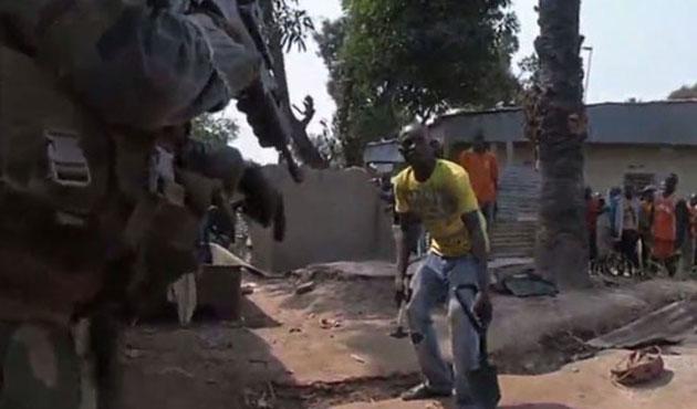 Orta Afrika'da Müslüman mahallesine saldırı