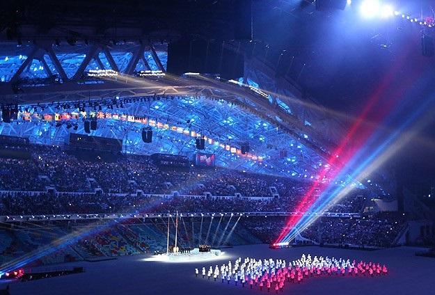 22. Kış Olimpiyat Oyunları başladı