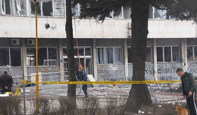 Bosna'da gösteriler bitti;  sessizlik başladı!