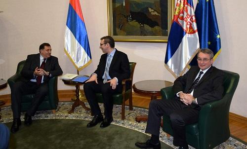 Sırbistan'da 'Bosna Hersek' zirvesi