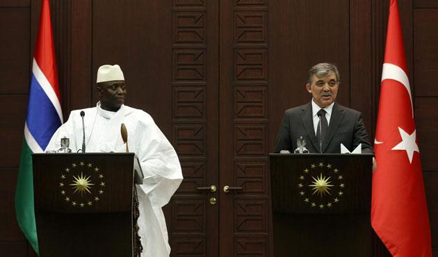 Gambiya lideri Jammeh Türkiye'de