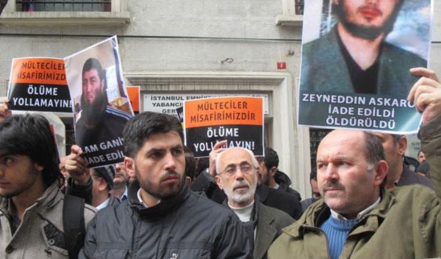 Türkiye'ye sığınan Özbek iade ediliyor