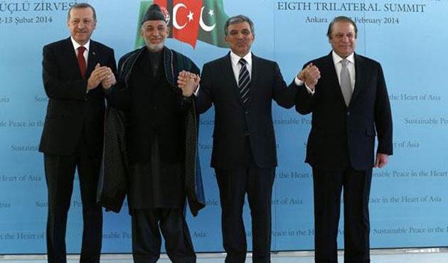 Türkiye-Afganistan-Pakistan zirvesi tamamlandı