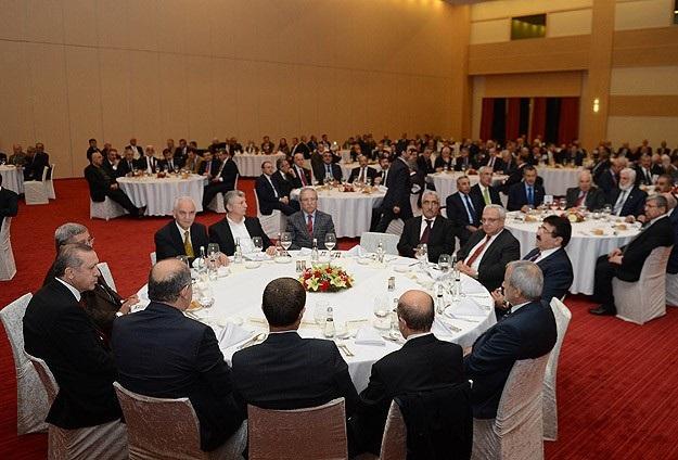 Erdoğan eski vekillerle bir araya geldi