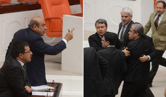 Meclis'te Hasip Kaplan-Şamil Tayyar gerilimi