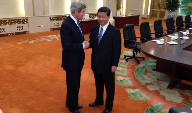 Kerry, Çin başbakanı ile görüştü