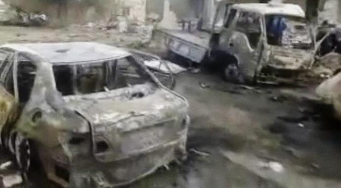 Suriye'deki patlamada ölü sayısı 48'e yükseldi