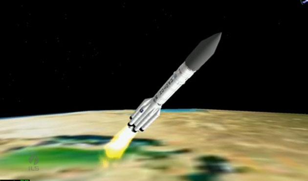 TÜRKSAT 4A'nın uzaya gönderiliş anı-VİDEO