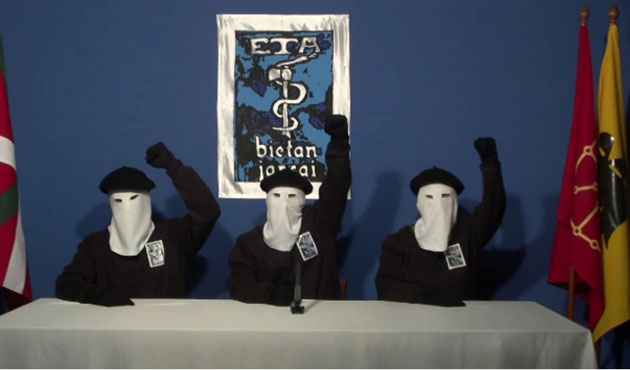 ETA'ya soykırım suçlaması