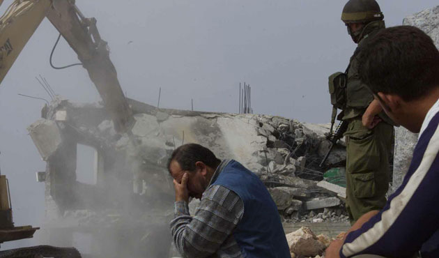 İsrail Doğu Kudüs'te mescid yıktı