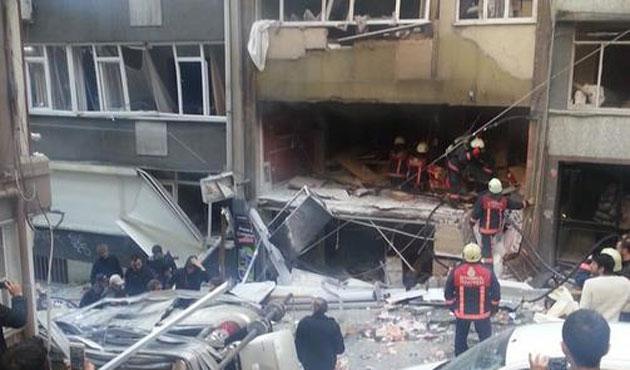Taksim'deki patlamanın sebebi tüpgaz
