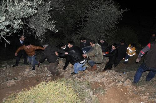 AK Parti seçim konvoyunda kaza: 1 ölü