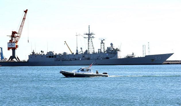 ABD savaş gemisi 6 gündür Samsun'da