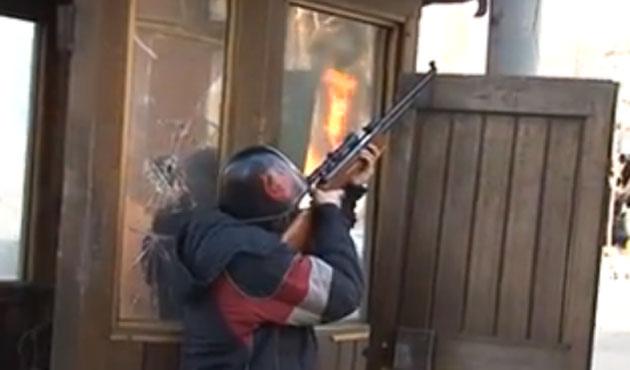 Ukrayna'dan iç savaş görüntüleri / VİDEO