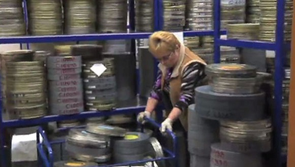 Rus arşivinde bir milyon film var