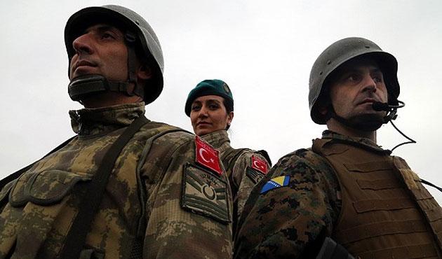 TSK'dan Bosna ordusuna uygulamalı eğitim