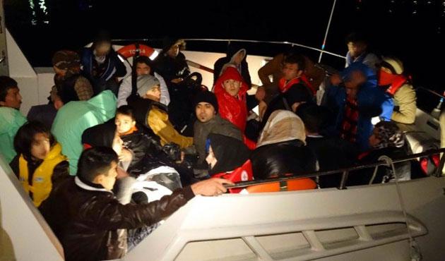 Sınırda bin 130 kaçak göçmen yakalandı