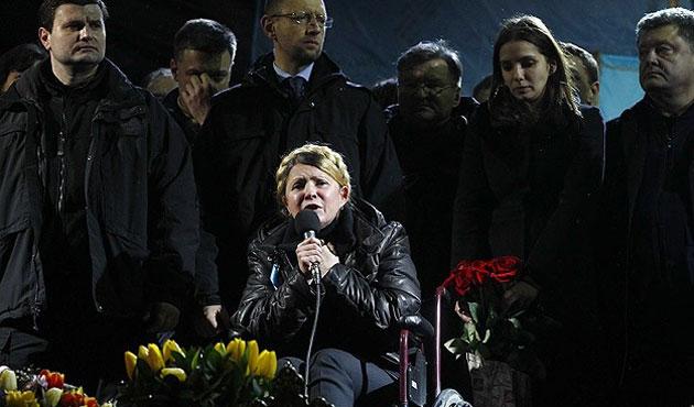 Timoşenko başbakanlığa talip olmadı