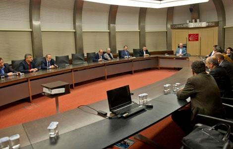 Gözler CHP Grup Genel Kurul toplantısında