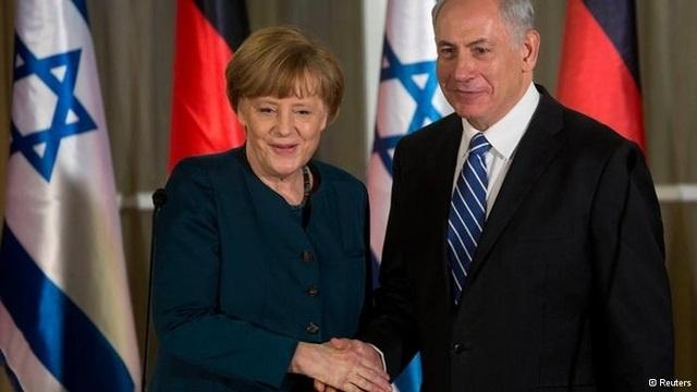 Merkel, 16 bakanıyla İsrail'de