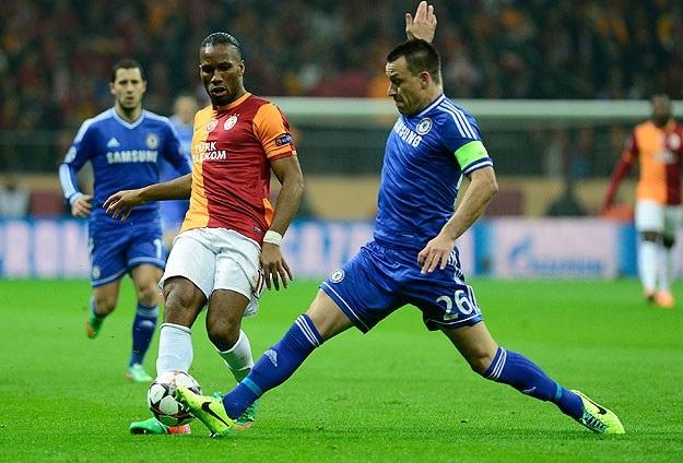 Galatasaray, Chelsea'i yıkamadı