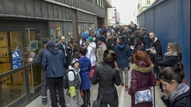 İsveç'te işsiz ordusuna polis müdahelesi