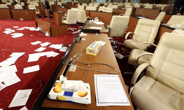 Libya hükümeti meclisin çalışmalarının durmasını istedi